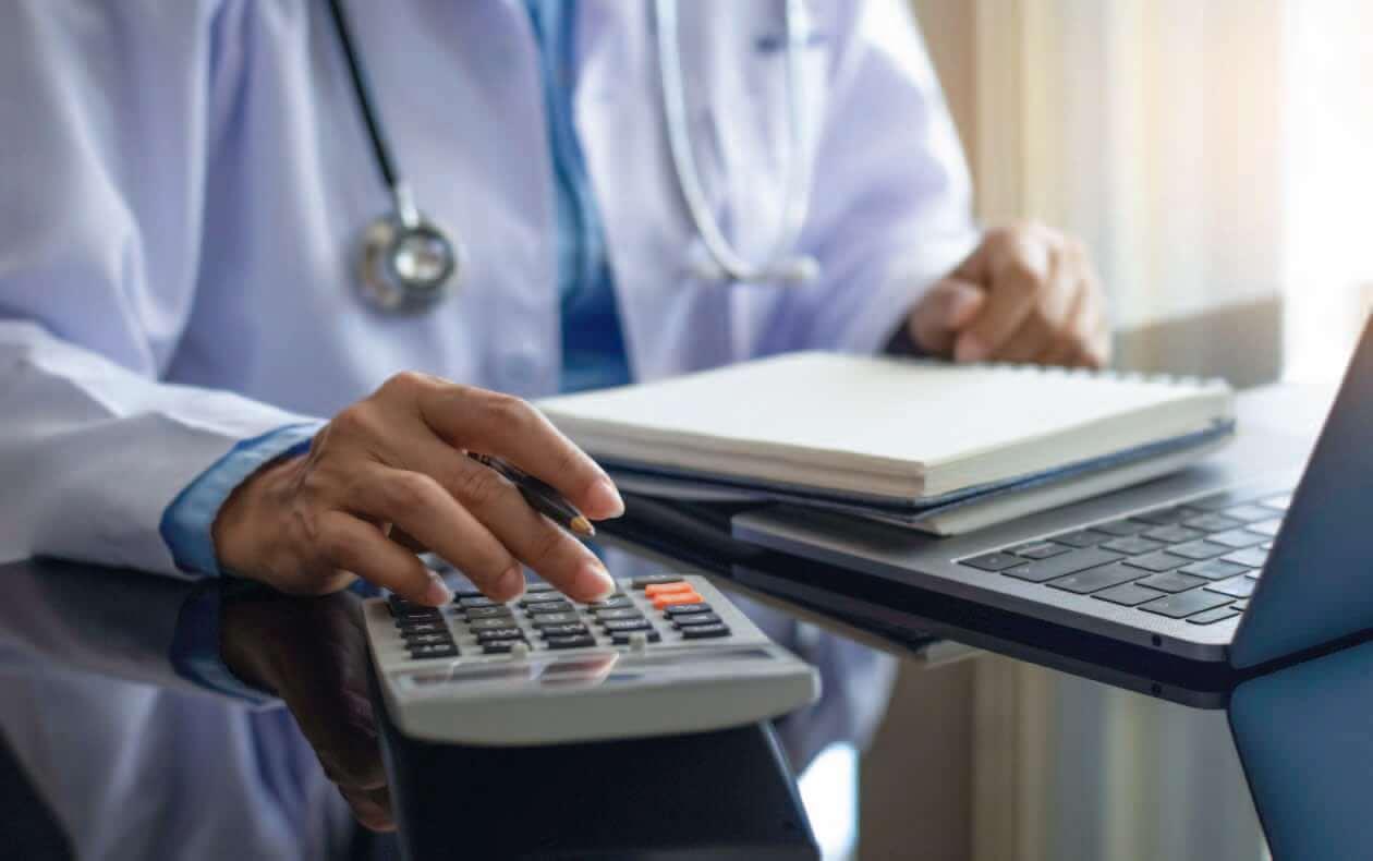Calculadora médicos gasto