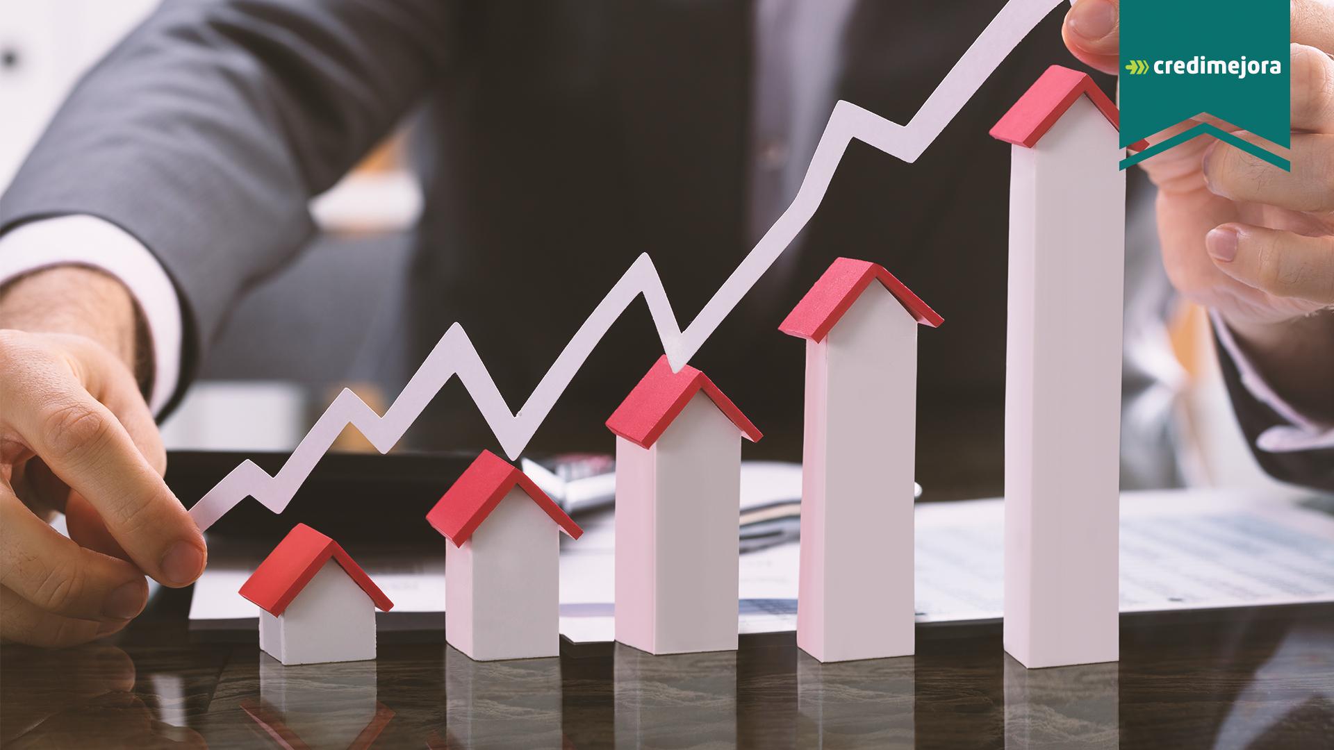 Crecimiento del sector inmobiliario en México | Credimejora