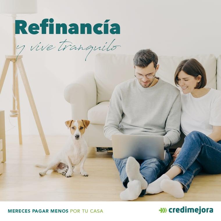 Refinanciamos tu crédito hipotecario | Credimejora