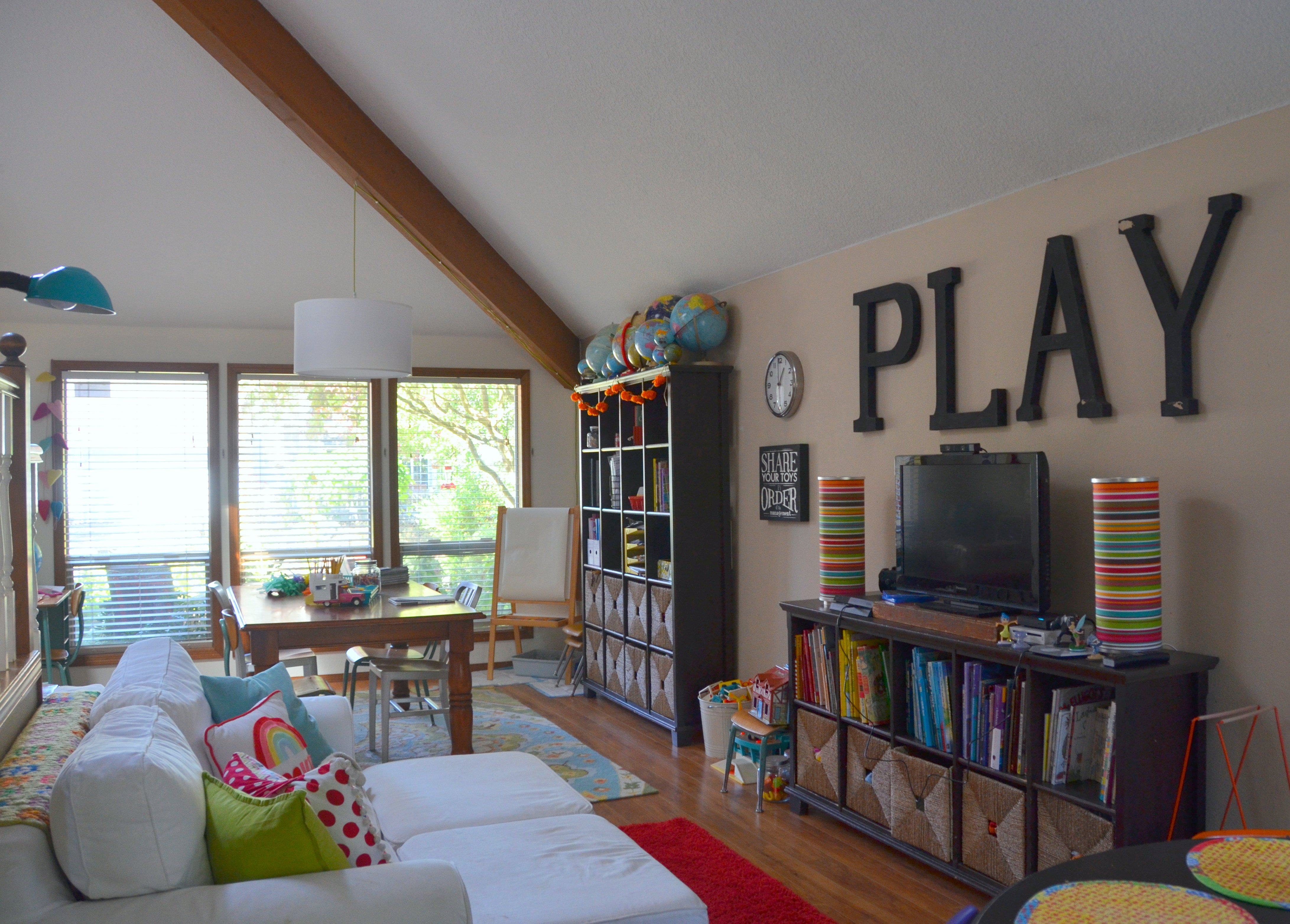 the playroom: version 2015 – home is what you make it